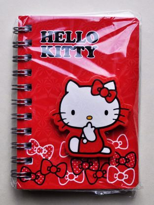 NPAD057 Small Hello Kitty Spiralbound Notebook