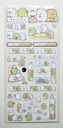 STIC200 Sumikogurashi Sticker Sheet - A