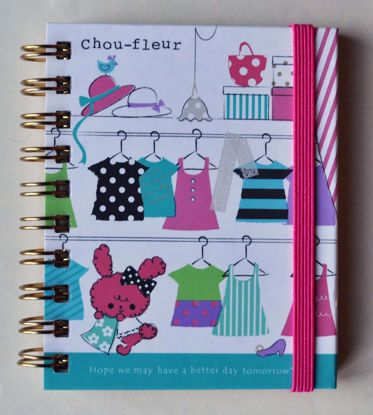 NPAD097 Chou Fleur Small Ringboung Notebook - Clothes