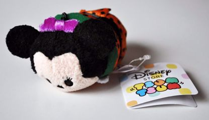 PLUSH191 Mickey and Friends Tsum Tsum Haloween Plushie /  Screen Cleaner - Minnie Mouse A
