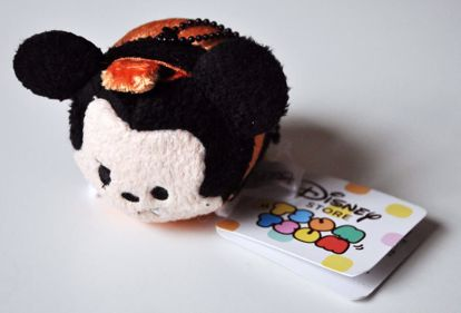PLUSH194 Mickey and Friends Tsum Tsum Haloween Plushie /  Screen Cleaner - Mickey B