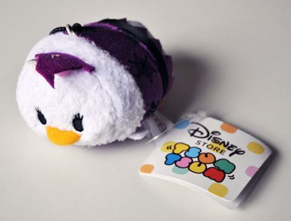 PLUSH196 Mickey and Friends Tsum Tsum Haloween Plushie /  Screen Cleaner - Daisy Duck B