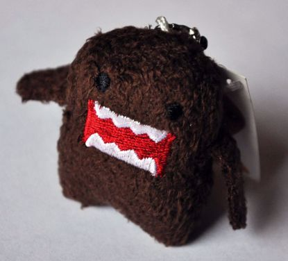 PLUSH241 Super Cute Soft Domo Plush Phone Strap / Charm