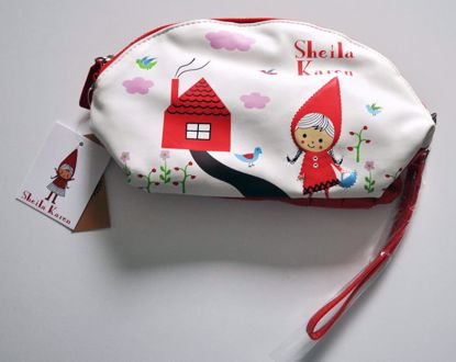 MISC812 Sheila Karen / Red Riding Hood Make Up Bag / Purse / Pouch