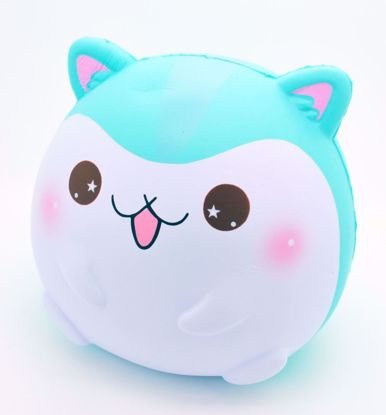 SQUISH1517 Popular Jumbo Fat Fat Poli Super Soft and Slow Rising Scented Hamster Squishy - Mint