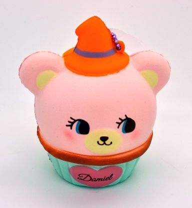 Buy NIC Super Soft and Slow Rising Scented Domiel HUG ME Halloween Mascot - Pink Cupcake