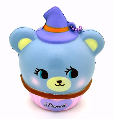 Buy NIC Super Soft and Slow Rising Scented Domiel HUG ME Halloween Mascot - Purple Cupcake