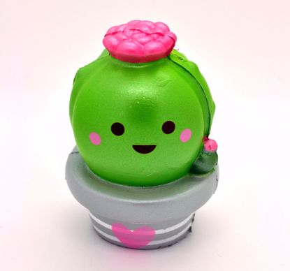 Buy Momocuppy Super Soft and Slow Rising Scented Koi the Cactus Squishy - with Raindrop Mini Squishy Bestie