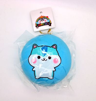 Buy Popular Super Soft and Slow Rising Jumbo Poli Bun Squishy - Blue B