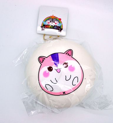 Buy Popular Super Soft and Slow Rising Jumbo Poli Bun Squishy - White E