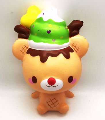 Buy Puni Maru x CreamiiCandy Super Soft and Slow Rising Scented Reindeer Yummiibear Squishy
