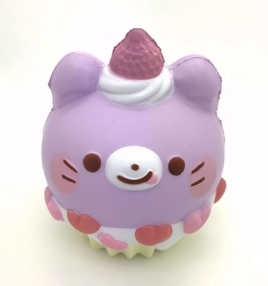 Buy Super Cute Soft and Slow Rising BIG! Animal Cupcake Squishy - Cat