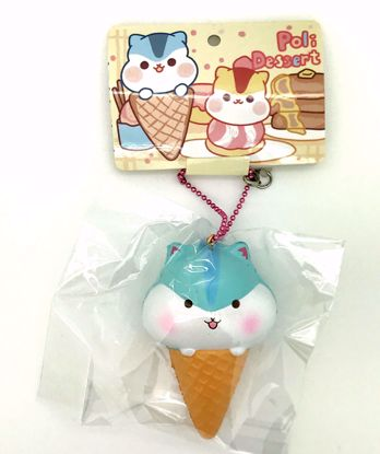 Buy Popular Super Soft and Slow Rising Fruit Scented Poli Dessert Ice Cream Cone Squishy