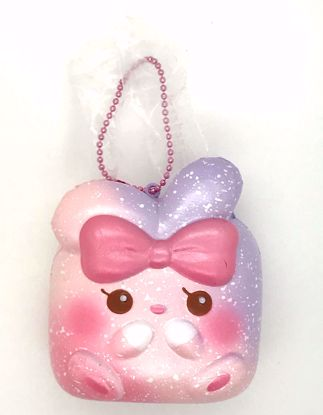 Buy iBloom Super Soft and Slow Rising Scented Angel Bunny Chigiri Squishy - Rose
