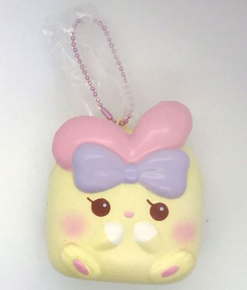 Buy iBloom Super Soft and Slow Rising Scented Angel Bunny Chigiri Squishy - Lulu