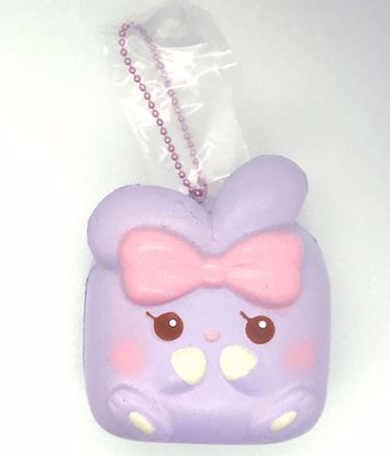 Buy iBloom Super Soft and Slow Rising Scented Angel Bunny Chigiri Squishy - Charlotte