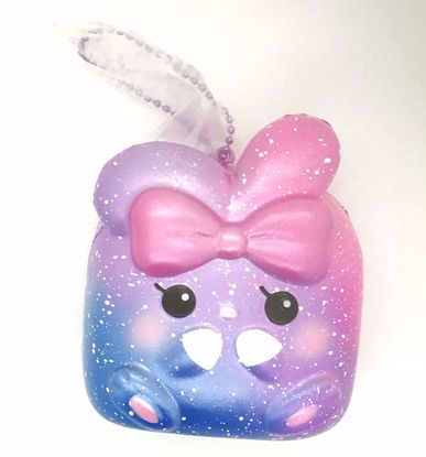 Buy iBloom Super Soft and Slow Rising Scented Angel Bunny Chigiri Squishy - Natalie