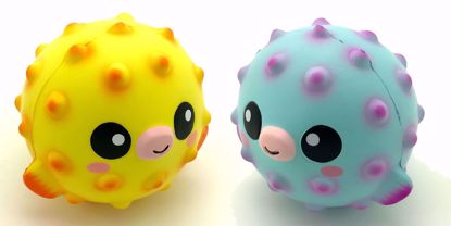 Buy Japansquish Original Super Soft and Slow Rising Scented Fruity Fugu Squishies - Set of 2 - Bobo & Mambo
