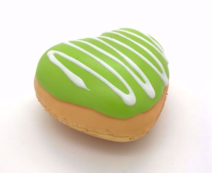 Buy Puni Maru x Creamii Candy Super Soft and Slow Rising Scented Mini Heart Donut Squishy - Green
