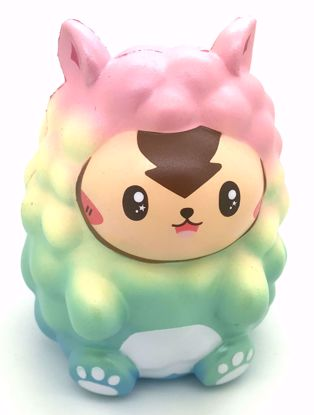 Buy Cutie Creative Super Soft and Slow Rising Jumbo Scented Alpaca Fluff Fluff Squishy - Rainbow