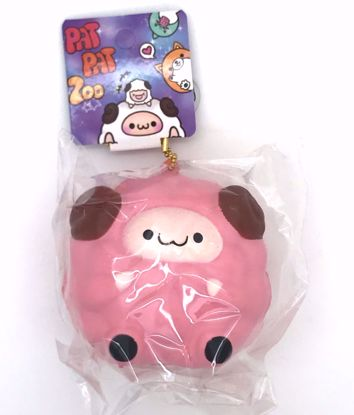 Buy Pat Pat Zoo Super Soft and Slow Rising Scented Mini Sheep Squishy - Pink