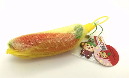 Buy Puni Maru Super Soft and Slow Rising Scented Cheeki's Mini Red Strawberry Banana Squishy