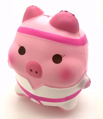 Buy Puni Maru x Creamiicandy Super Soft and Slow Rising Scented Jumbo Marshmellii Karate Pork Chop Squishy - Girl