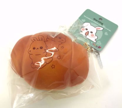 Buy Popular Super Soft and Slow Rising Scented Poli Shell Bread Squishy - Baked