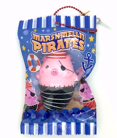 Buy Puni Maru x Creamiicandy Super Soft and Slow Rising Scented Marshmellii Pirate Squishy - B