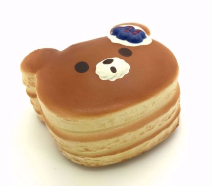 Buy Puni Maru Super Soft and Slow Rising Scented Mini Bear Pancake Squishy - Blueberry