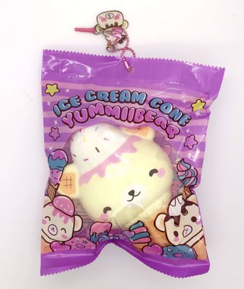 Buy Puni Maru x Creamiicandy Super Soft and Slow Rising Scented Yummiibear Ice Cream Cone Squishy - B