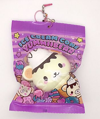 Buy Puni Maru x Creamiicandy Super Soft and Slow Rising Scented Yummiibear Ice Cream Cone Squishy - C