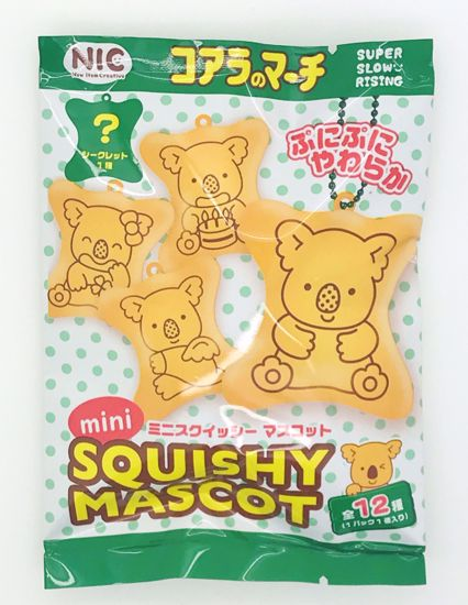 Buy ** LUCKY DIP ** NIC Super Soft and Slow Rising Koala Biscuit Squishy Blind Bag